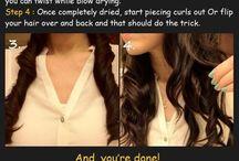 Hair natural curling