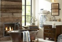Rustic Bathroom / Home-Owner-Buff a home sweet home for home news, home management, home and garden tips and many more insights about home tips. Read our blog at http://home-owner-buff.com/.