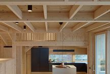 Déco : intérieurs pierres/bois