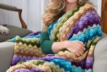 Cobijas crochet