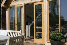 French Doors in Timber Hard Wood and Painted Finish / Timber Wood French Doors in Oak, Accoya, Painted Finish. Creating light and space in your hojme