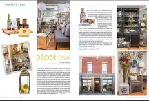 """Hot off the Press! """"Extra Extra Read all about it!"""" / #Crafteddecor - Store features, write-ups and newsletters"""