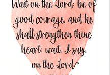 Scripture/Prayer
