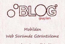 Blogger İpuçları