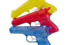 Water Guns / Summer fun with water guns!