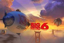 6 Big Hero / La animación de Disney que se estrenará en noviembre del 2014.
