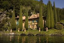 Villa Cassandra, Lake Como / Living life on the lake. Whether at its bustling busiest or in its silence at night, Lake Como is hauntingly beautiful.