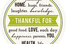 Thanksgiving / All things Thanksgiving.