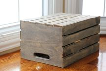 Состаренный ящик
