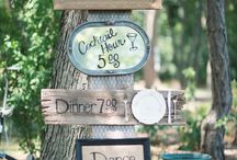 Wedding Signage! / There are so many ways to display your big day.  This board seeks to inspire outdoor signs that compliment our marquee alternative Nordic Tipis, LoveTipis.