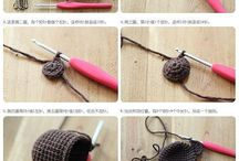 Key chain crochet / cover key
