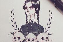 Halloween / Dibujos de terror...