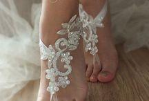 zapatos encajes