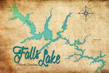 Vintage Maps / Local lake maps made vintage by yours truly.  / by Greg Sharpe Fine Art Photography & Digital Designs