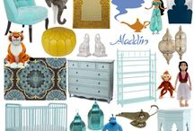 Aladdin Inspired Interior Design