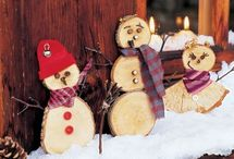 Bonhommes neige fenetre