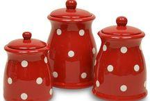 ceramics red