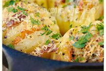 Food - At The Corner of  Main & Sides / Recipes and tips for entrees and side dishes.