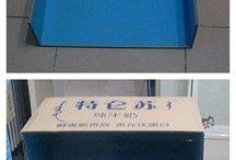 nábytok z kartónu