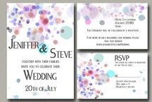Wedding Invitations / #Events #Invitation #Party #BridalShower #Wedding