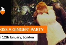 #KissAGingerDay / 12th January it's Kiss A Ginger Day, the day we celebrate the love we have for red hair.  A special #KissAGingerDay Party is hosted by HotForGinger.Com in central London if you want to join us click here https://www.facebook.com/events/1982921438587209/?active_tab=about