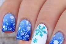 Noël nails
