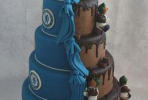 Evey soccer cakes