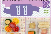 Lunch Box Ideas / Great and adaptable lunch box ideas for Back-to-School