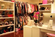 A Walk-In Closet..and then some / Well, I need a walk-in closet to fit all the clothes I want! / by Laura Oganowski