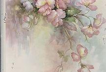 pittura fiori