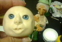 Meus trabalhos de porcelana fria / Porcelana fria