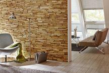 Rivestimenti in legno / Il legno è un materiale immediatamente associato alla natura, al benessere, al calore della casa: emozioni positive che vogliamo provare sempre più spesso.