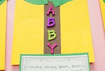 Name Learning Activities / Activities to help children learn the letters in their name and to write their name.