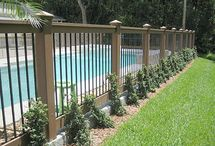 composite decking and fence