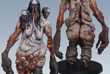 The Others - 7 Sins / Collection of Awsome miniatures from a Big-Bang Boardgame what realese in 2016.
