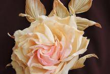 цветы из...