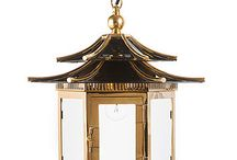 oriental lamp set