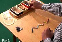 Mathematisches Montessorimaterial