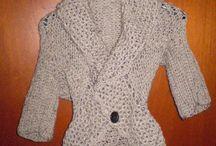TEAR / Loom knitting