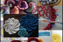 free form crochet spiral