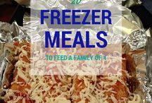 Dinner Freezer Meals / by Linda Cunningham Thomas