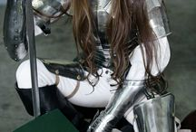 Strong Women in Realistic Armor