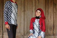 gamis batik asli / menjual berbagai macam batik indonesia