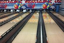 Gutter Bumpers / You can take them bowling too. We take our little kids and they have these little ramps to roll the balls down. With the gutter bumpers, the scores can get ...