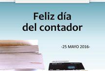 Día del contador / Felicitamos a todos los contadores públicos y de manera muy especial mandamos un fuerte abrazo a los contadores de nuestro despacho. ¡Feliz #DíaDelContador! #ContadoresPúblicos Servicios Corporativos en Contaduría y Administración