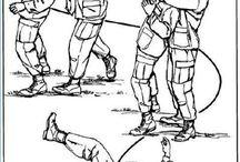 Tactical takedowning knock outing hitting bi tchslappin rektin tactics