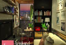 Living Area - design by HoS