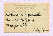 Quotes! / by Amy Wilczek