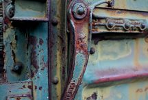rust, paint, texture