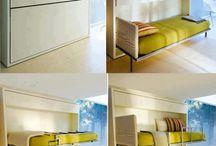 мебель-трансформер / разные варианты экономии пространства
